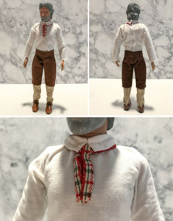 Shirt, Pants, And Tie For Ken Doll.
