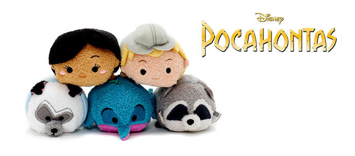 Coming Soon: Pocahontas Mini Tsum Tsums