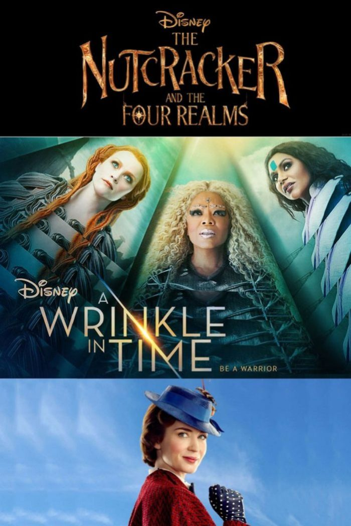 Disney Live Action Movie Posters 2018