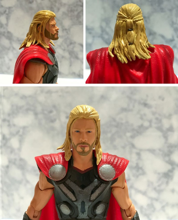 Custom Thor Action Figure