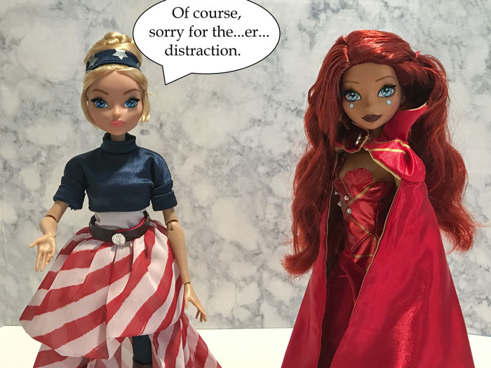 Doll Photo Story Featuring Marvel Fan Girls: Image 3