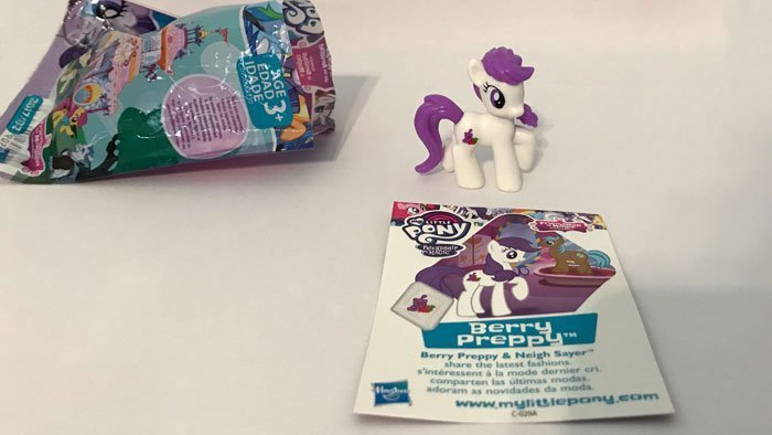 My Little Pony Blind Bag: Berry Preppy.