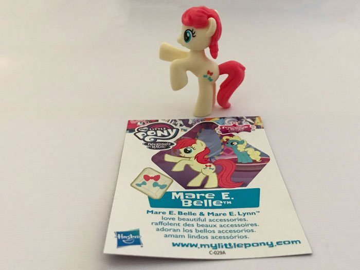 My Little Pony Blind Bag: Mare E. Belle.