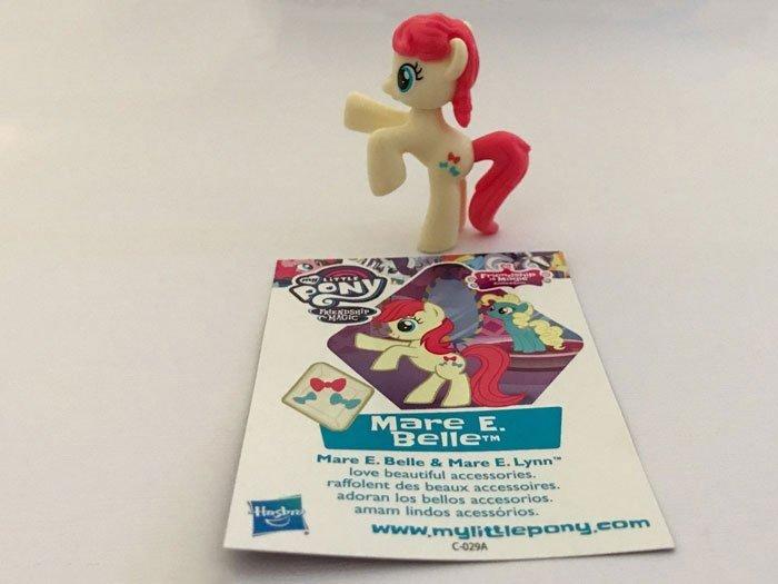 My Little Pony Blind Bag: Mare E. Belle.