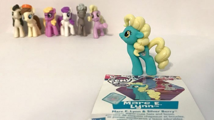My Little Pony Blind Bag: Mare E. Lynn.