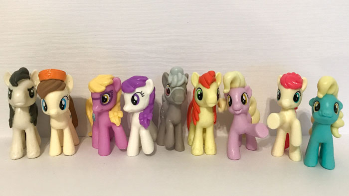 Ponies From My Little Pony Blind Bags