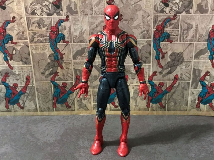 Marvel Legends Iron Spider Figure.
