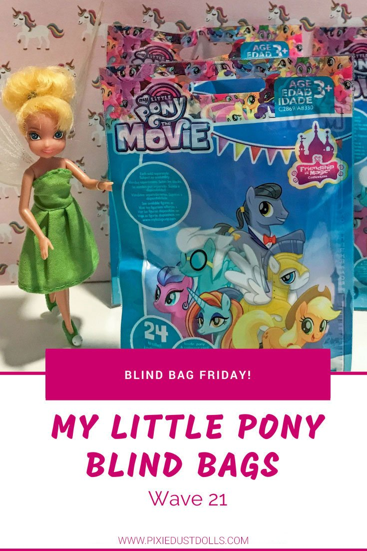 Opening My Little Pony Wave 21 Blind Bags!