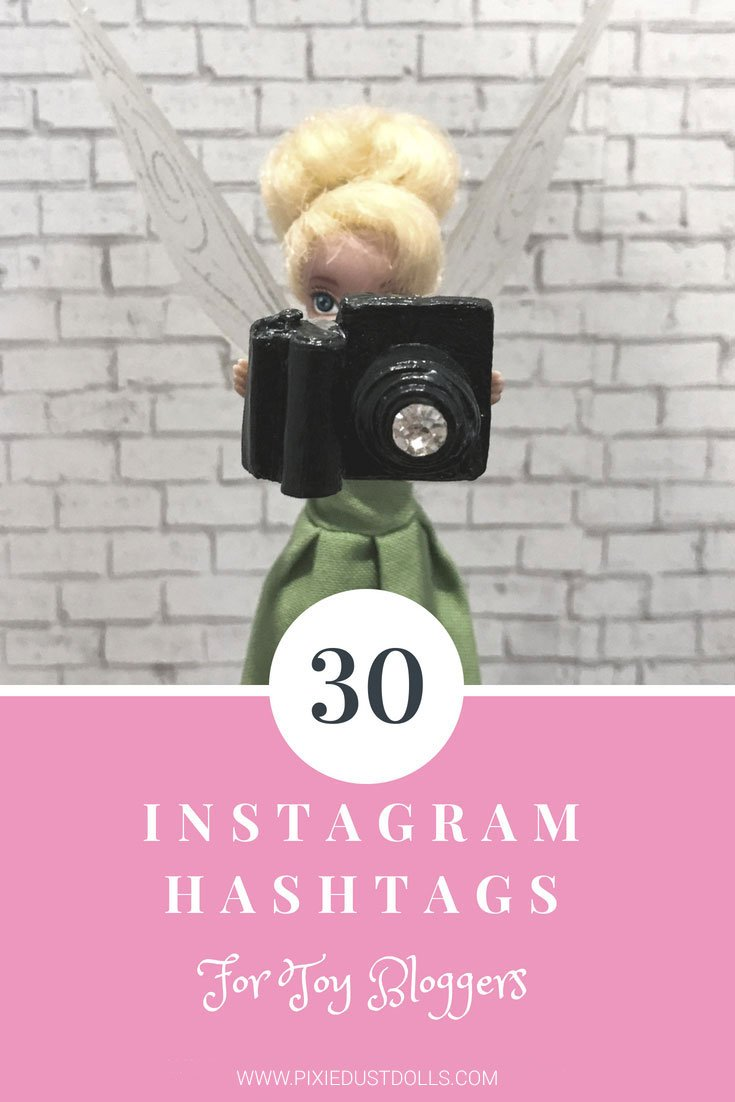 Want to know the best hashtags for tagging your doll photos? Here's a list of our top thirty doll and toy-related hashtags!