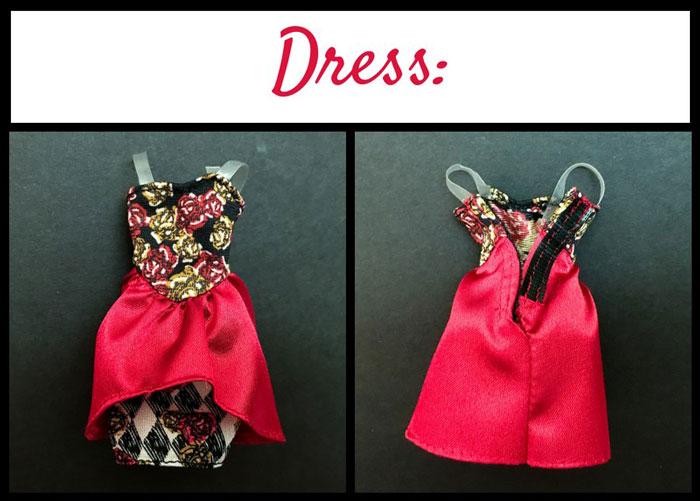 Lizzie Hearts' Spring Unsprung Dress.