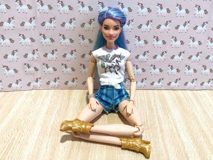 Custom Barbie Fashionista 88.