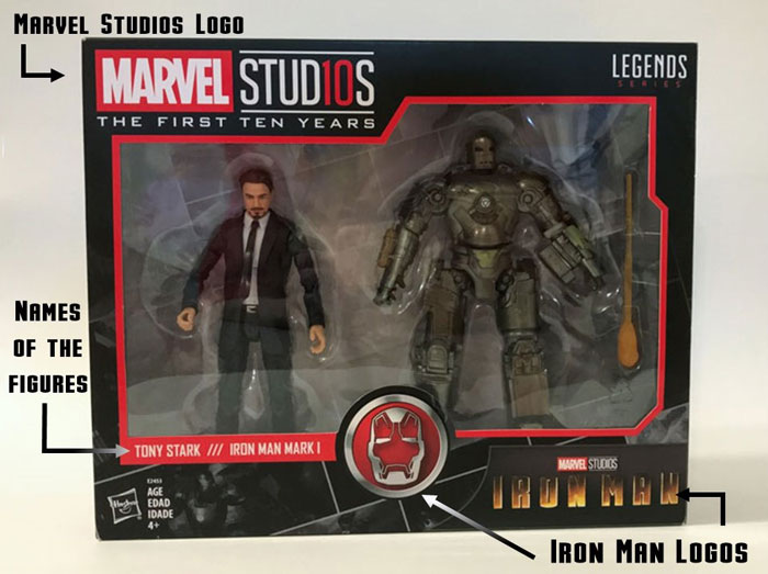 Marvel Studios: The First Ten Years Tony Stark and Mark 1 Review.