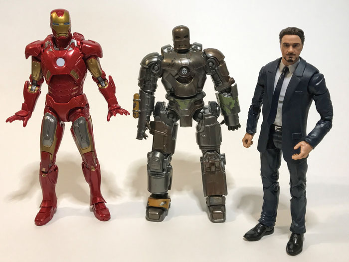 Marvel Studios: The First Ten Years Iron Man, Tony Stark, and Mark 1.