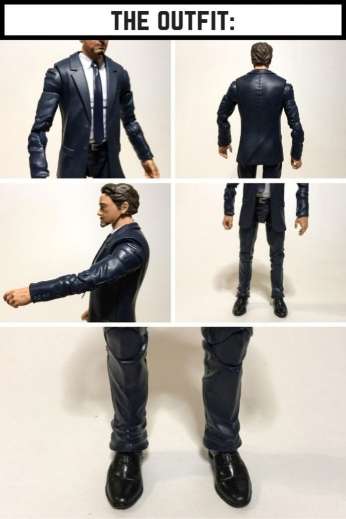 Marvel Legends Tony Stark Outfit.