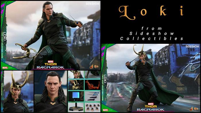 Hot Toys Loki from Thor: Ragnarok.