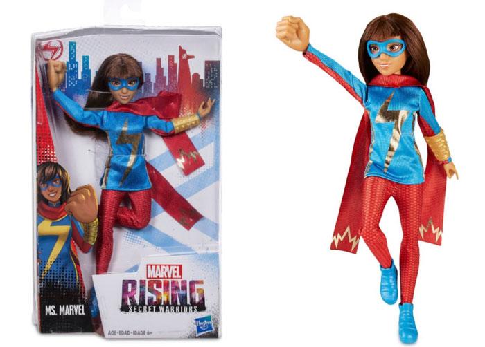 Ms. Marvel doll.