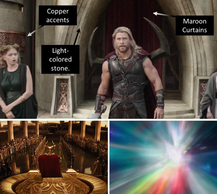 The Colors Of Asgard.