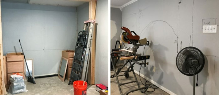 Craft Room Under Construction