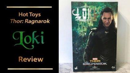 Hot Toys Loki Thor: Ragnarok Sixth Scale Figure Review.