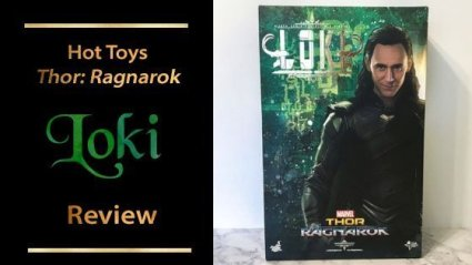 Hot Toys Loki Thor: Ragnarok Sixth Scale Figure Review.