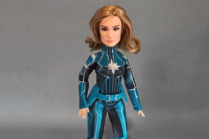 The Captain Marvel Starforce doll is a must-have for doll-lovers and Marvel fans!