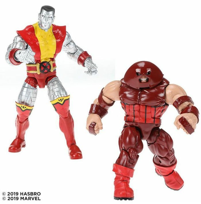 Marvel 80th Anniversary Legends Colossus and Juggernaut two-pack. Coming Fall 2019.