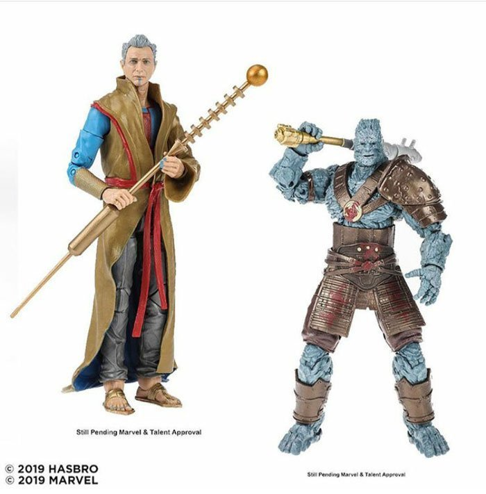 Marvel 80th Anniversary Legends Grandmaster and Korg Two-Pack. Coming Fall 2019.