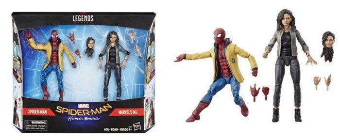 2019 Marvel Legends Spider-Man: Homecoming two-pack from Target.