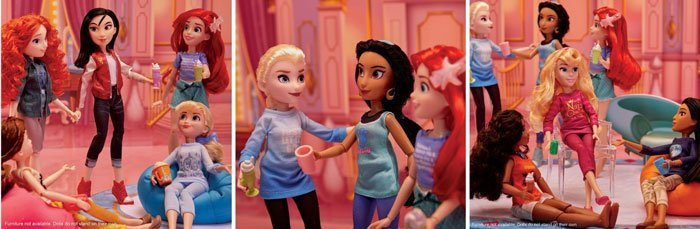 Ralph Breaks The Internet dolls from Hasbro. Coming March 2019.