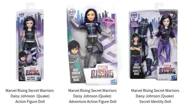 Marvel Rising: Secret Warriors Quake Dolls (2018).