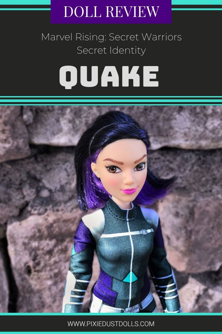 Doll Review: Marvel Rising Secret Identity Quake.