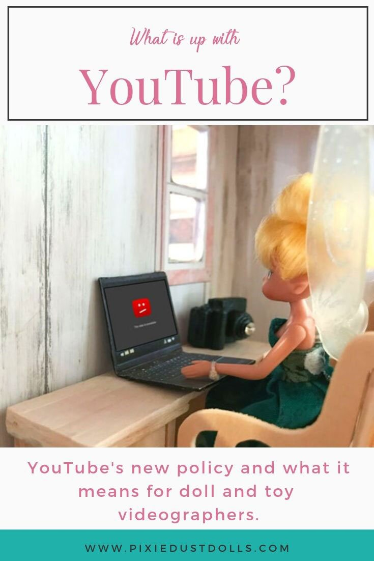 What do YouTube's coming changes mean for doll and toy reviewers?