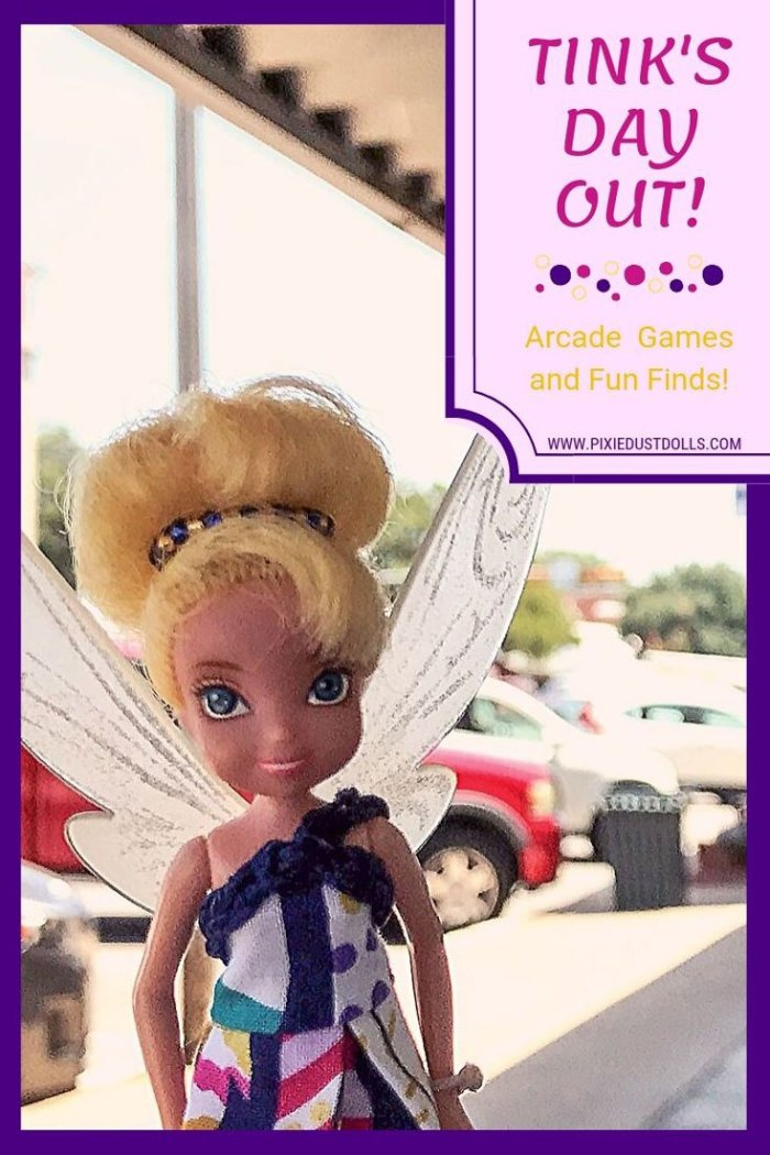 See Tink's latest adventure to the arcade plus some doll-sized goodies she found while antiquing!