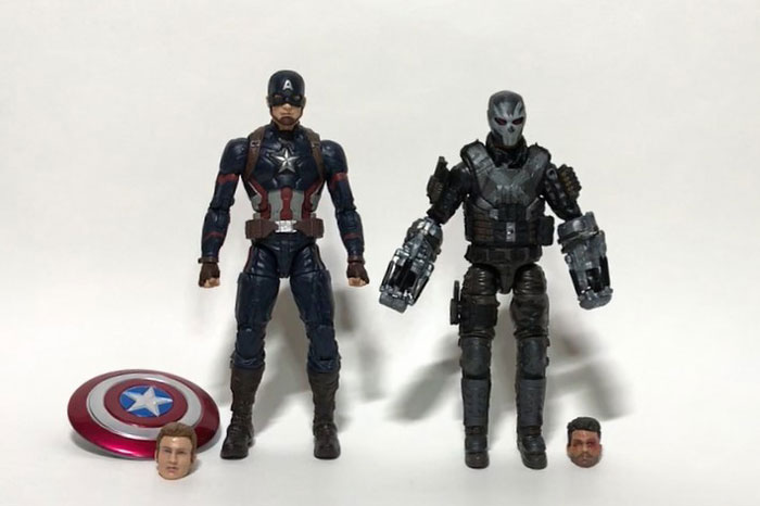Marvel Studios: The First Ten Years Captain America and Crossbones.