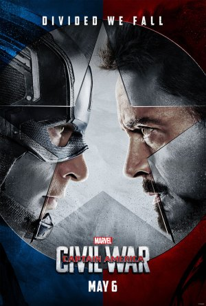 Captain America Civil War Poster.