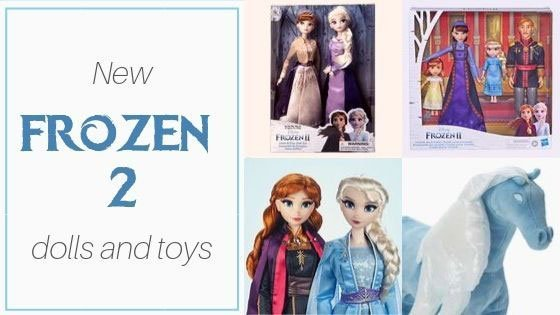 Frozen 2 Dolls Are Here!