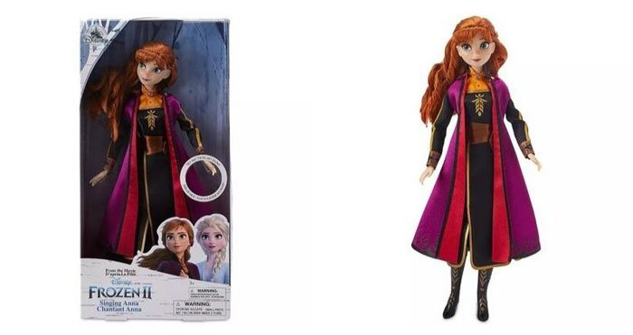 Disney's Frozen 2 Singing Anna Doll (sings The Next Right Thing)..