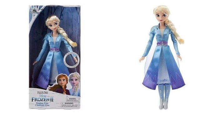 Disney's Frozen 2 Singing Elsa doll (sings Into The Unknown).