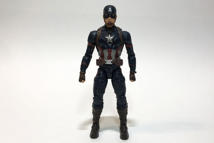 Marvel Legends Captain America figure review.
