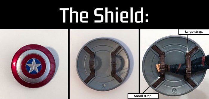 Captain America's Shield (Marvel Legends).