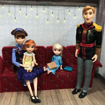 Arendelle Royal Family.