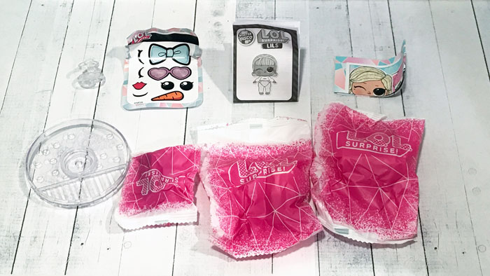 L.O.L Surprise Lils Winter Disco bags.