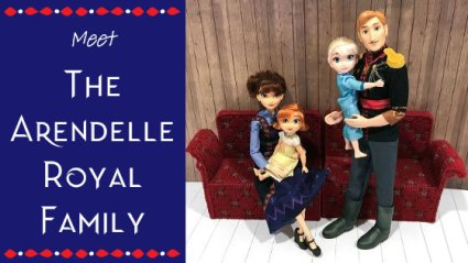Doll Review: The Arendelle Royal Family Doll Set by Hasbro.