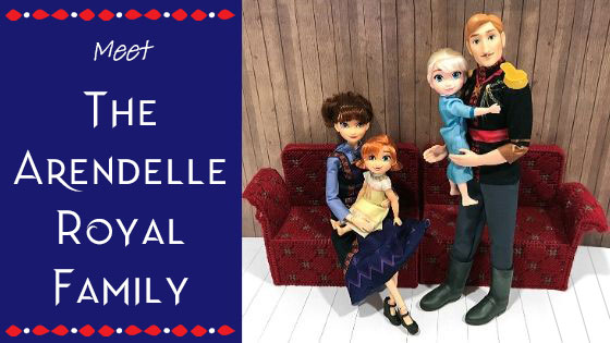 Meet The Arendelle Royal Family–A Review Plus Custom Doll Project!