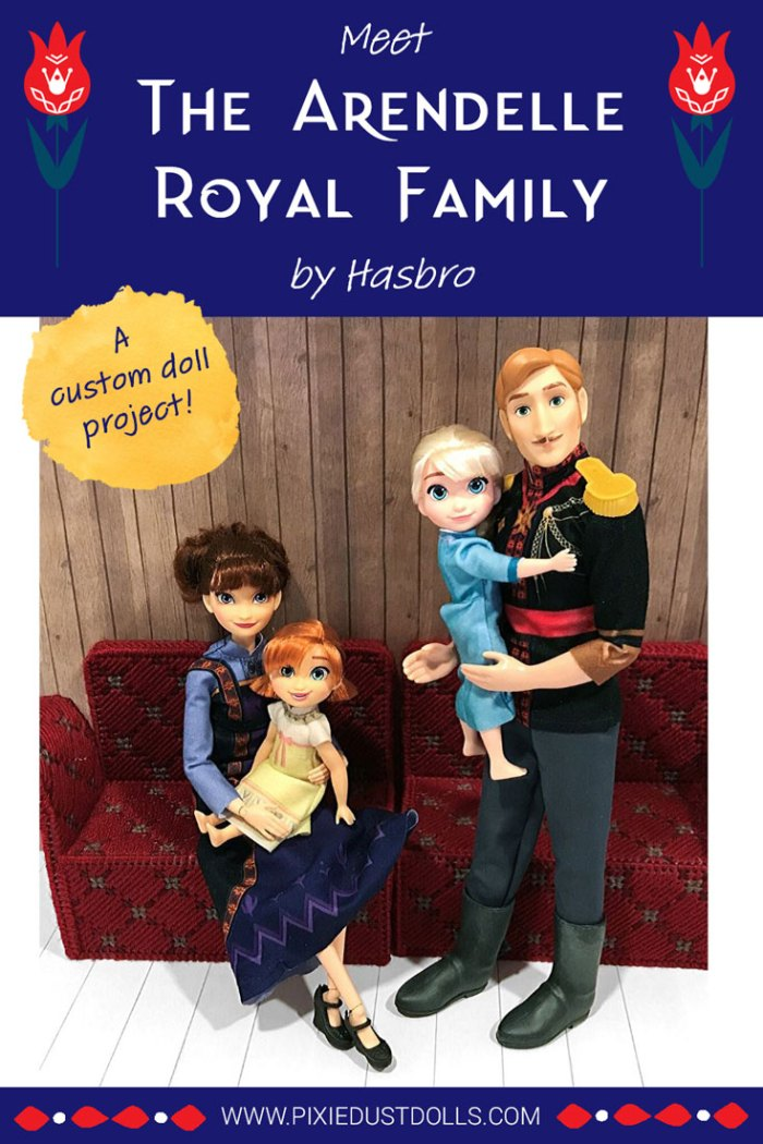 Doll Review: The Arendelle Royal Family by Hasbro.