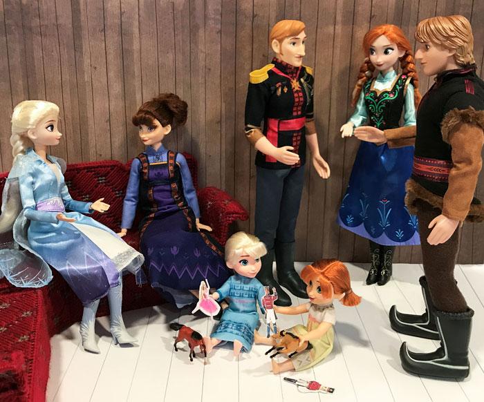 Mr Frozen 2 Custom Dolls.