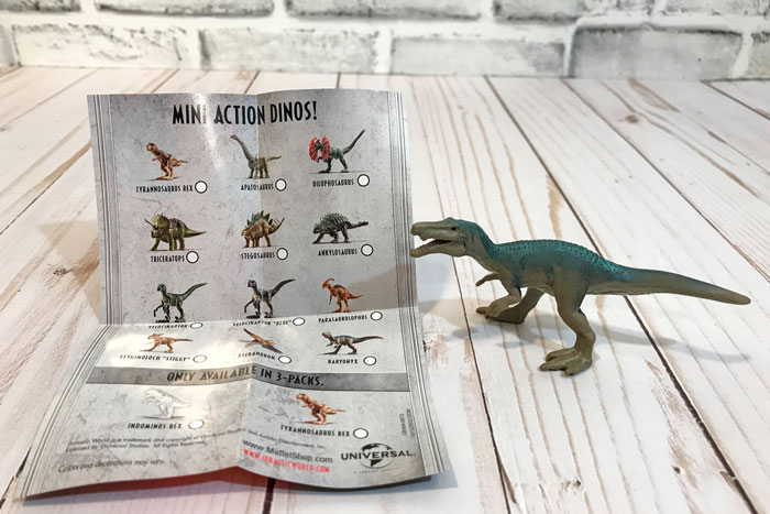 Jurassic World Mini Action Dino: Baryonyx.