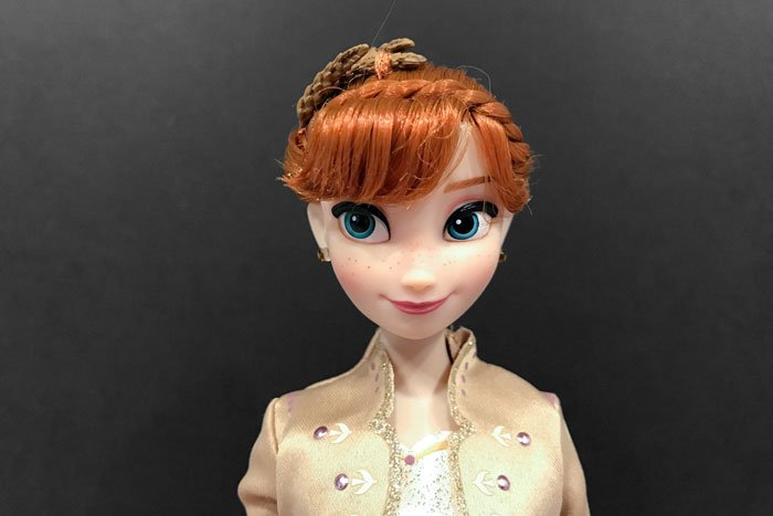 Disney Frozen 2 Classic Anna close up.