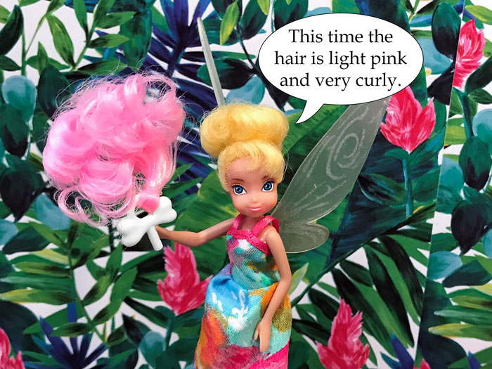 Tink holding clip.