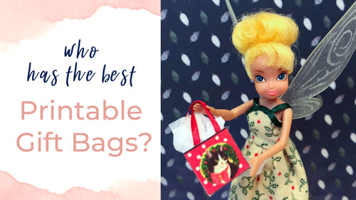 Who Has The Best Printable Gift Bags?